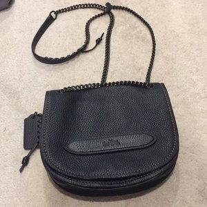 Black Coach SHADOW crossbody
